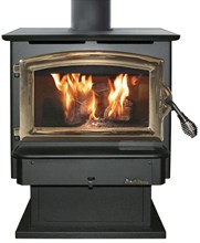 Buck FS21, freestanding woodstove, no blower BW-BUCK FS21