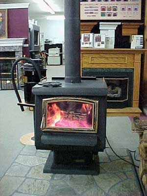 Catalytic Earth Stove Burning