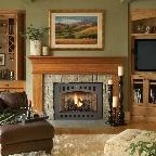 Lopi Bostonian Gas Fireplace
