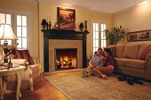 Majestic Chateau Series Gas Fireplace