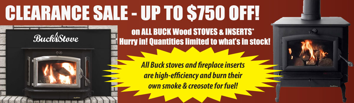 Buck Stove Clearance Sale